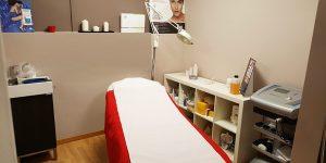 Stanza epilazione laser trattamenti corpo