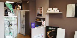 Reception centro estetico Femme